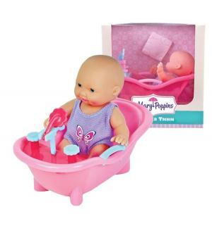 Пупс  Крошка Тини в ванночке 12 см Mary Poppins