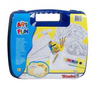Набор для творчества  Art&Fun в синем чемоданчике Simba