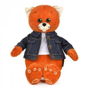 Мягкая игрушка  Колбаскин в джинсовой куртке 25 см Колбаскин&Мышель