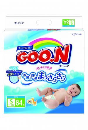 Подгузники  S (4-8 кг) 84 шт. Goon