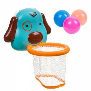 Набор для купания Корзина с шариками Собачка Bondibon