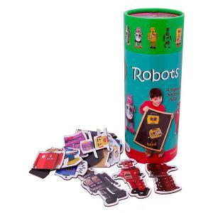 Магнитная игра  Роботы The Purple Cow