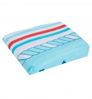 Комплект постельного белья , цвет: голубой Leader Kids