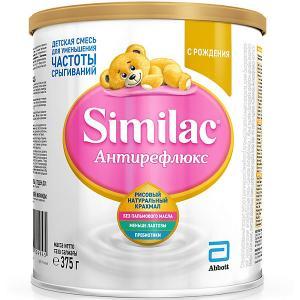 Молочная смесь  Антирефлюкс, с 0 мес, 375 г Similac