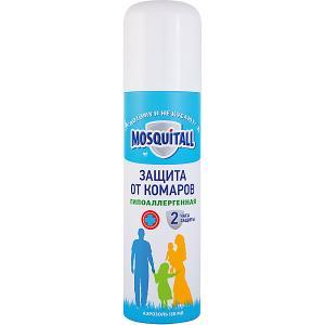 Аэрозоль от комаров Mosquitall гипоаллергенная защита, 150 мл