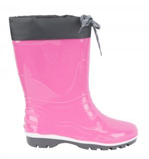 Резиновые сапоги , цвет: розовый Псков-полимер