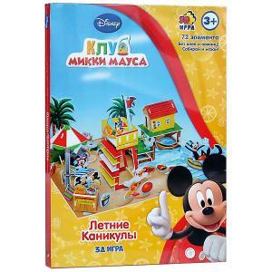 Игра настольно-печатная  Летние каникулы Disney