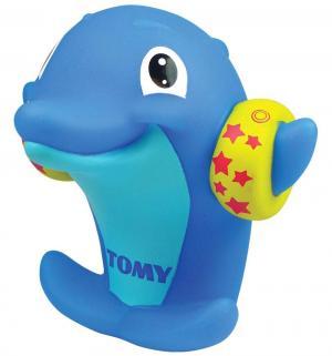 Игрушка для ванной  Водяная свистулька Дельфин Tomy