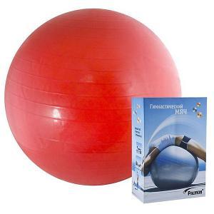 Гимнастический мяч  Стандарт 45 см, красный Palmon. Цвет: красный