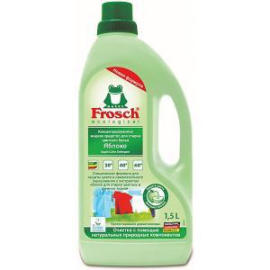 Жидкое средство для стирки  Яблоко цветного белья, 1,5 л Frosch