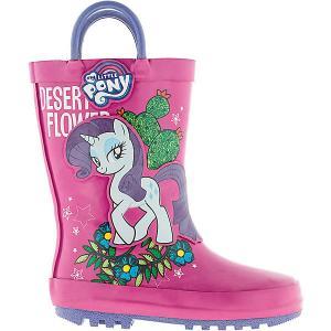 Резиновые сапоги  My little Pony Kakadu. Цвет: розовый