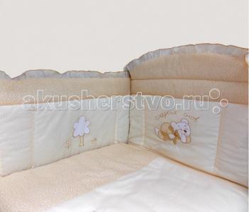 Комплект в кроватку  Светик (7 предметов) Bombus