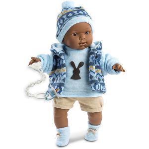 Кукла  Зареб 42 см, со звуком Llorens. Цвет: разноцветный