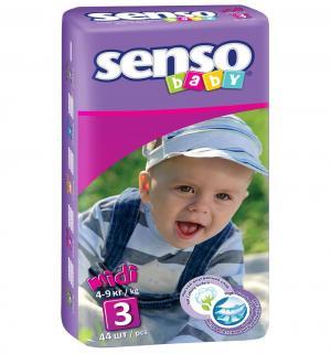 Подгузники  Midi (4-9 кг) 44 шт. Senso Baby