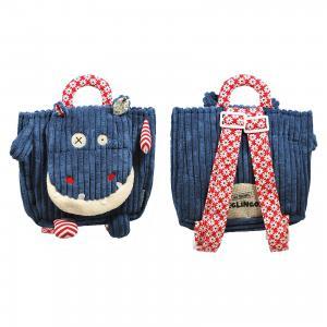 Рюкзак Deglingos Hippipos  Hippo синий. Цвет: синий