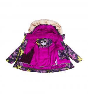 Комплект куртка/полукомбинезон , цвет: синий/желтый Gusti