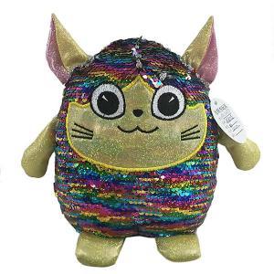 Мягкая игрушка  Эльф с пайетками, 20 см ABtoys. Цвет: разноцветный