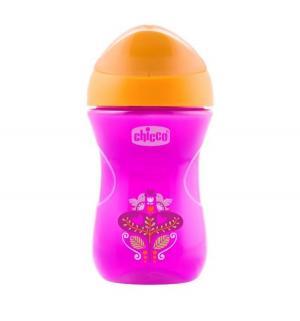 Чашка-поильник  Easy cup Цветочек, с 12 месяцев, цвет: розовый Chicco