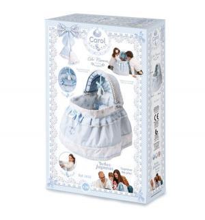 Кроватка для кукол  Кэрол с балдахином 52 см DeCuevas