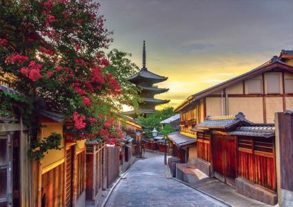 Пазл Пагода Ясака, Киото, Япония 1000 деталей Educa