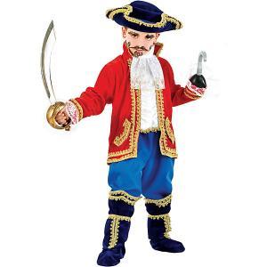 Карнавальный костюм  Капитан Крюк для мальчика Veneziano. Цвет: разноцветный