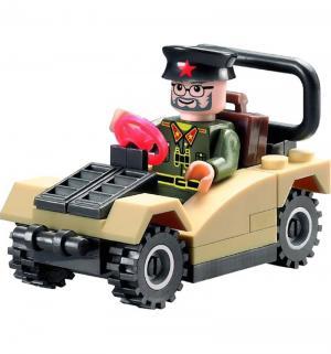 Конструктор  Военный джип Brick