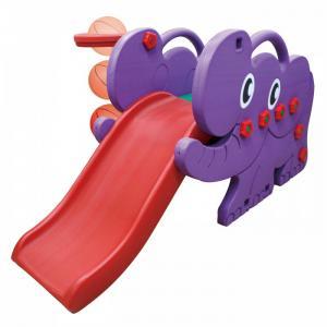 Детский игровой комплекс JM-706D Elephant горка баскетбольное кольцо футбольные ворота Happy Box