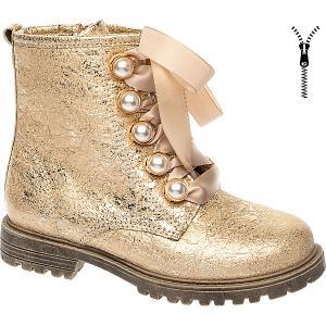 Ботинки BETSY Princess для девочки. Цвет: желтый