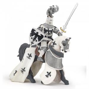 Белый хохлатый рыцарь Papo