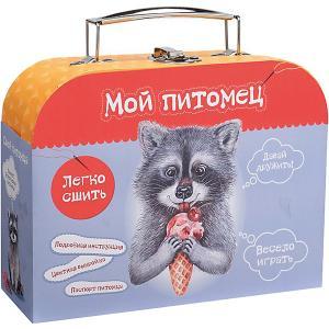Набор для творчества Мой уютный домик Сшей игрушку Енотик Бумбарам. Цвет: разноцветный