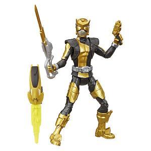 Игровая фигурка Power Rangers Beast Morphers Золотой Рейнджер с боевым ключом, 15 см Hasbro. Цвет: разноцветный