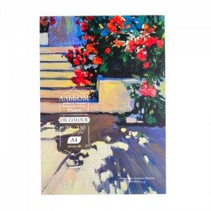 Альбом-склейка для масляных красок Tician А4, 230 г/м (20 листов) Малевичъ