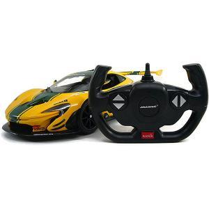 Радиоуправляемая машина  McLaren P1 GTR 1:14, жёлтая Rastar. Цвет: желтый