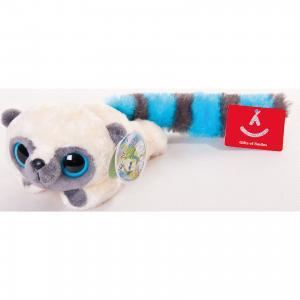 Мягкая игрушка Юху голубой лежачий, 16 см, и друзья, AURORA
