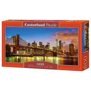 Пазл  Бруклинский мост, Нью-Йорк, 600 деталей Castorland