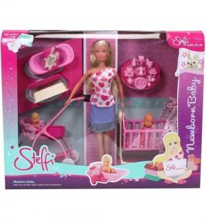 Игровой набор  Штеффи с новорожденным Steffi