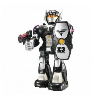 Интерактивная игрушка Hap-p-Kid Робот-воин черный красный Happy Kid