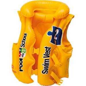 Жилет для плавания  Pool School, step 2 Intex. Цвет: желтый