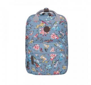 Рюкзак  цвет: голубой-разноцветный 30х42х19 см Grizzly