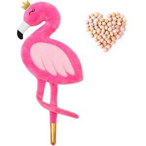 Игрушка-грелка  Доктор Мякиш Фламинго Мякиши. Цвет: разноцветный