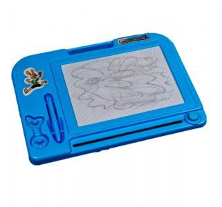 Доска для рисования  21 х 15 цветная голубая 1Toy