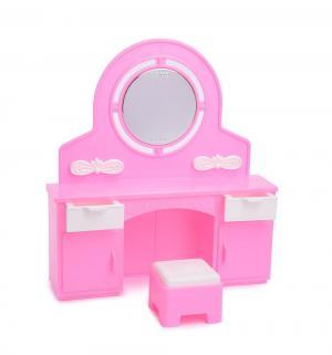 Мебель для кукол  Трюмо с пуфиком Огонек
