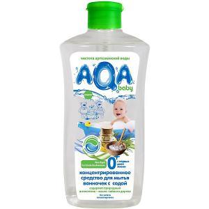 Cредство для мытья ванночек  с содой, 500 мл AQA baby
