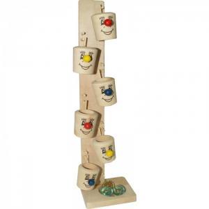 Деревянная игрушка  Игра Ведерки QiQu Wooden Toy Factory