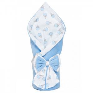 Конверт-одеяло на выписку Плюша Мороженое Чудо-чадо