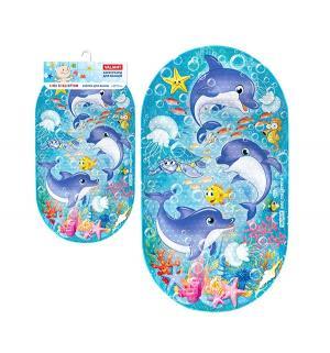 Коврик для ванны  Дельфинчики Valiant