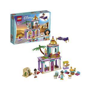 Конструктор  Disney Princess 41161: Приключения Аладдина и Жасмин во дворце LEGO