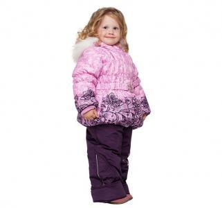 Зимний комплект для девочки Бант Alex Junis