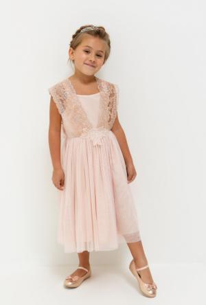 Платья Acoola. Цвет: светло-розовый
