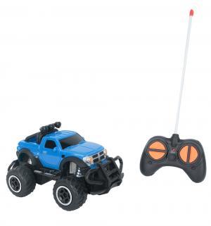 Машинка на радиоуправлении  синяя Игруша